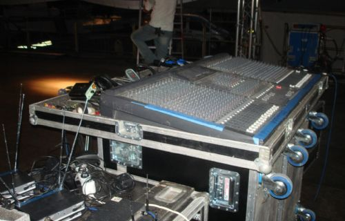 Regia palco