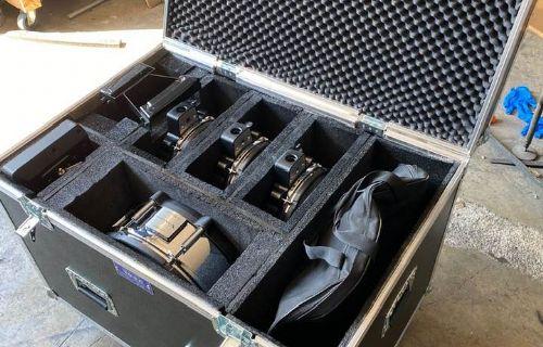 Flight Case per Batteria