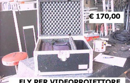 Flight Case per videoproiettore