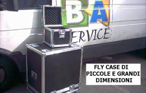 Flight Case di piccole e grandi dimensioni