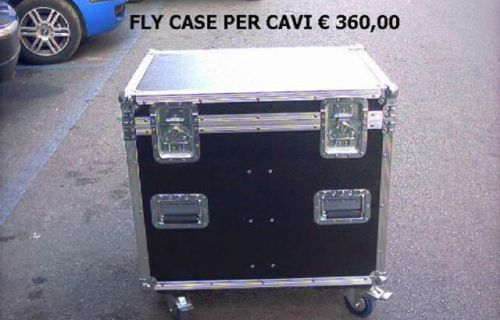 Flight Case per cavi