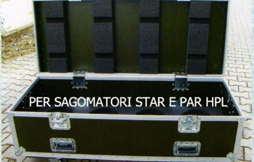 Flight Case per sagomatori STAR e PAR HPL