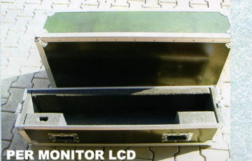 Flight Case per monitor LCD