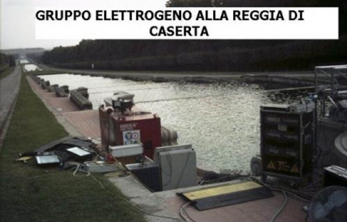 Generator of the Caserta's Royal Palace