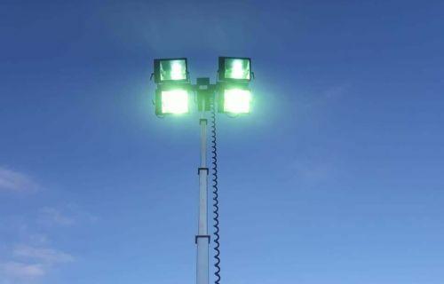Torre Faro per illuminazione