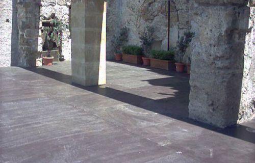 Messa in sicurezza al Palazzo Bonagia