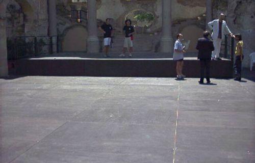 Pavimentazione a Palazzo Bonagia